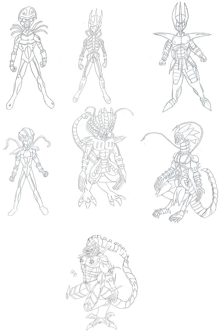 Grand Armor designs
